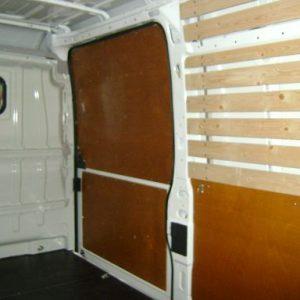 Schuifdeur paneel hechthout rechts onder