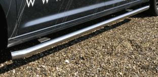 RVS sidebar set matgeborsteld